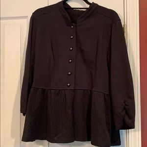 Maurice's XL Military Inspired Cardigan